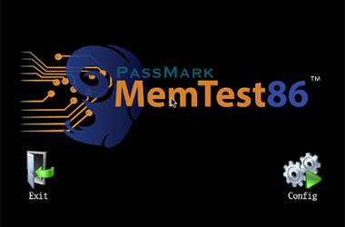 Screenshots Mem test 86